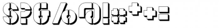 YWFT Estenceler Shadow Font OTHER CHARS
