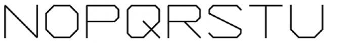 YWFT Formation Light Font UPPERCASE