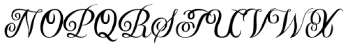 YWFT Harmony Font UPPERCASE
