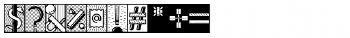 YWFT Illuminati Font OTHER CHARS