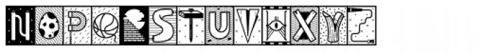 YWFT Illuminati Font LOWERCASE