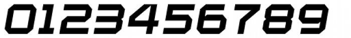 YWFT Maetl ExtraBold Oblique Font OTHER CHARS