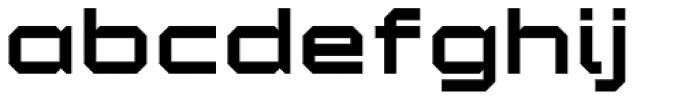 YWFT Maetl ExtraBold Font LOWERCASE