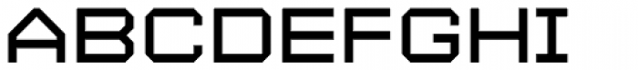 YWFT Maetl Font UPPERCASE