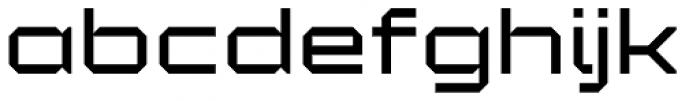 YWFT Maetl Font LOWERCASE