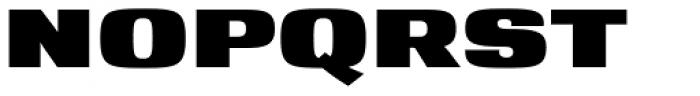 YWFT Matter Font UPPERCASE