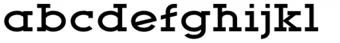 YWFT Motown Expanded Bold Font LOWERCASE