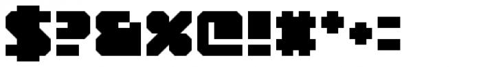 YWFT Novum Bold Font OTHER CHARS