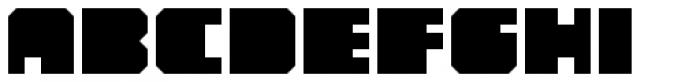 YWFT Novum Bold Font LOWERCASE