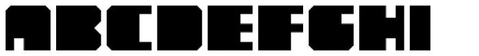YWFT Novum  Font UPPERCASE