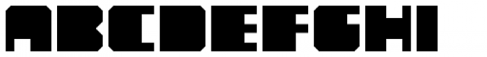 YWFT Novum  Font LOWERCASE