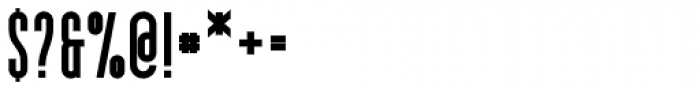 YWFT Pakt Condensed Black Font OTHER CHARS