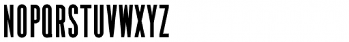 YWFT Pakt Condensed Black Font UPPERCASE