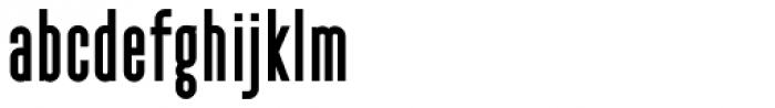 YWFT Pakt Condensed Black Font LOWERCASE