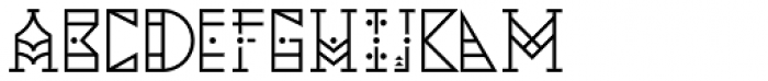 YWFT Pello Font UPPERCASE