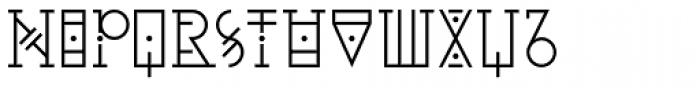 YWFT Pello Font LOWERCASE
