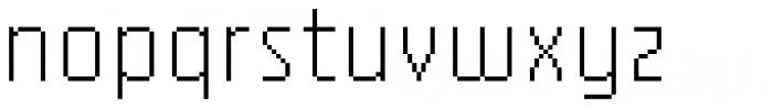 YWFT Processing Alternate Font LOWERCASE