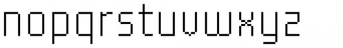YWFT Processing Regular Font LOWERCASE