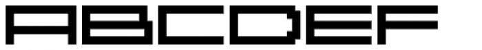 YWFT Reversion ExtraBold Font UPPERCASE