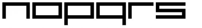 YWFT Reversion ExtraBold Font LOWERCASE