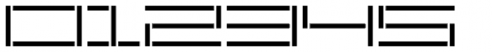 YWFT Reversion Light Broken Font OTHER CHARS
