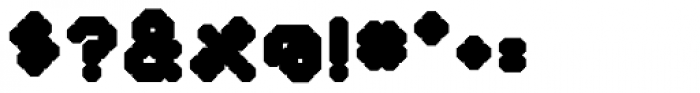 YWFT Selek ExtraBold Font OTHER CHARS