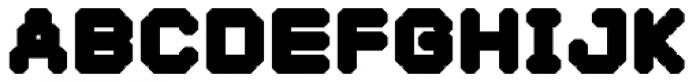 YWFT Selek ExtraBold Font UPPERCASE