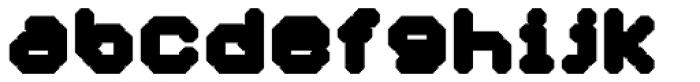 YWFT Selek ExtraBold Font LOWERCASE