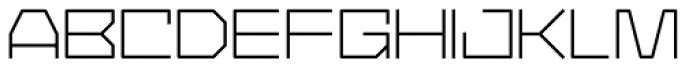 YWFT Service Light Font UPPERCASE