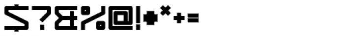 YWFT Service UltraBold Font OTHER CHARS