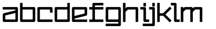 YWFT Service UltraBold Font LOWERCASE