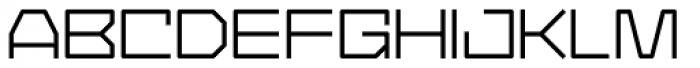 YWFT Service Font UPPERCASE
