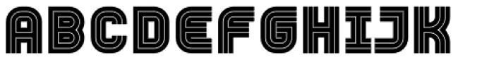 YWFT Trisect Black Font UPPERCASE