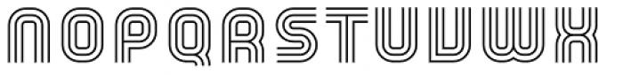 YWFT Trisect Light Font UPPERCASE