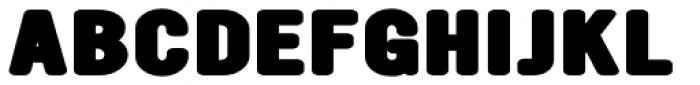 YWFT Ultramagnetic Expanded Black Font UPPERCASE