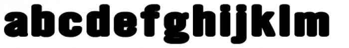 YWFT Ultramagnetic Expanded Black Font LOWERCASE