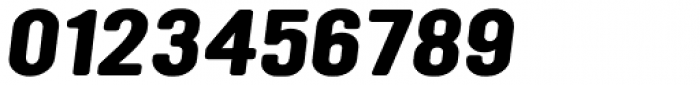 YWFT Ultramagnetic Expanded Bold Oblique Font OTHER CHARS