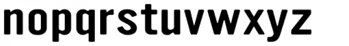 YWFT Ultramagnetic Expanded  Font LOWERCASE