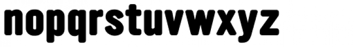 YWFT Ultramagnetic Extra Bold Font LOWERCASE