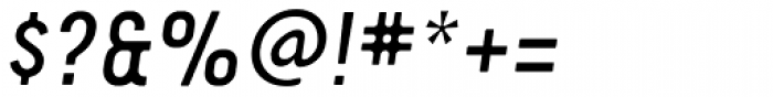 YWFT Ultramagnetic Light Oblique Font OTHER CHARS