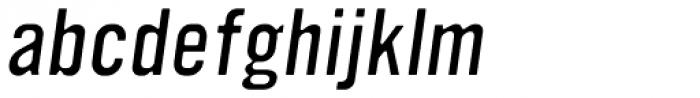 YWFT Ultramagnetic Light Oblique Font LOWERCASE