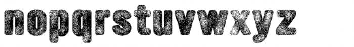YWFT Ultramagnetic Rough Black Three Font LOWERCASE