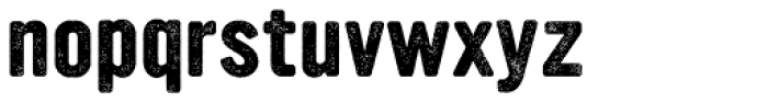 YWFT Ultramagnetic Rough Bold One Font LOWERCASE