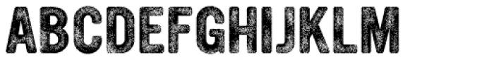 YWFT Ultramagnetic Rough Bold Three Font UPPERCASE