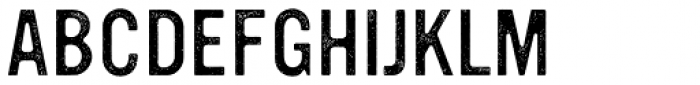 YWFT Ultramagnetic Rough Light One Font UPPERCASE
