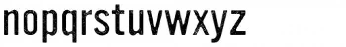 YWFT Ultramagnetic Rough Light One Font LOWERCASE
