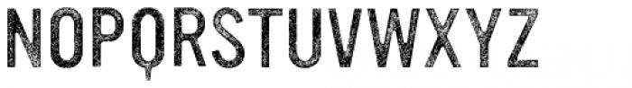 YWFT Ultramagnetic Rough Light Three Font UPPERCASE