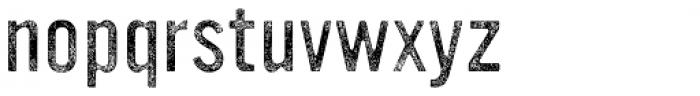 YWFT Ultramagnetic Rough Light Three Font LOWERCASE