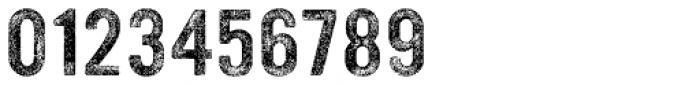 YWFT Ultramagnetic Rough Regular Three Font OTHER CHARS