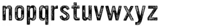 YWFT Ultramagnetic Rough Regular Two Font LOWERCASE